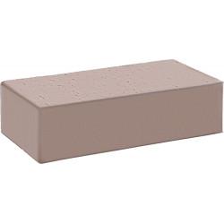 """КС-Керамик """"Камелот темный шоколад гладкий"""" одинарный полнотелый"""