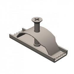 Крепеж для бетонного водоотводного лотка gidrolica dn 100