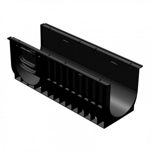 Лоток водоотводный gidrolica standart dn300 лв-30.38.38 кл. С250