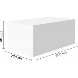 Стеновые блоки D300, 600x200x250