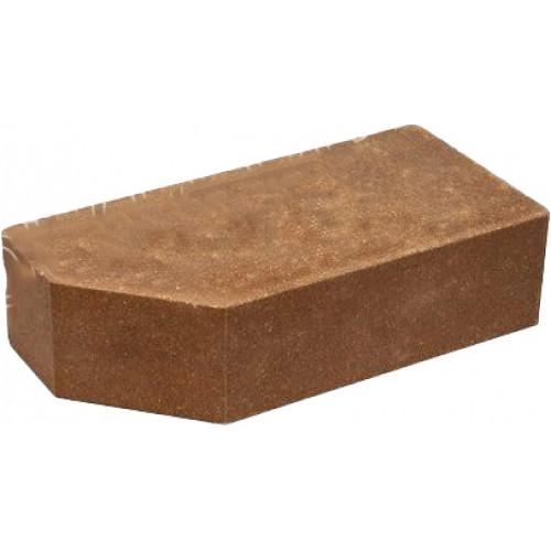 """Кирпич Литос """"стандартный угловой полнотелый"""" шоколад"""