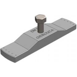 Крепеж для пластикового водоотводного лотка gidrolica dn100