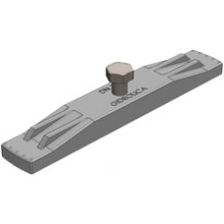 Крепеж для пластикового водоотводного лотка gidrolica dn150