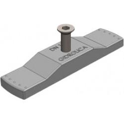 Крепеж для пластикового водоотводного лотка gidrolica dn100 и решетки рв-10.13,6.100