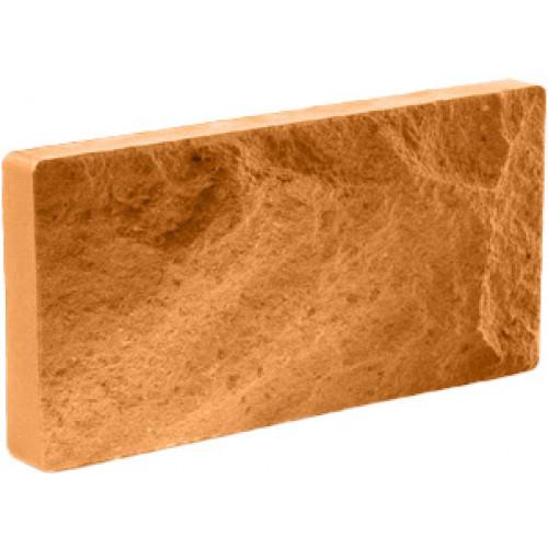 Цокольная плитка Литос терракот, 250*100*18